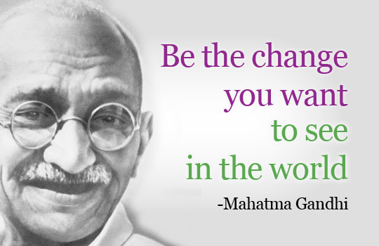 gandhi a true leader 473 words essay on my favorite leader – mahatma gandhi there have been many leaders who have led differently this world some.