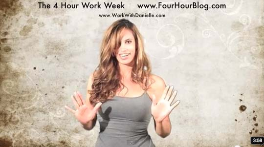 Post image for The Four Hour Work Week Video Review by Danielle Ford
