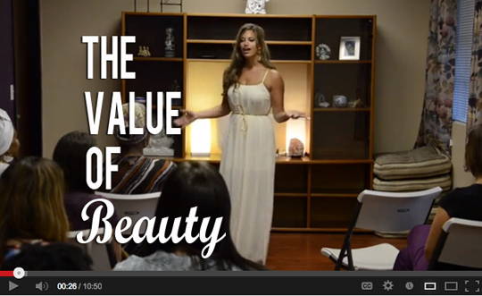 Post image for The Value of Beauty [Video]
