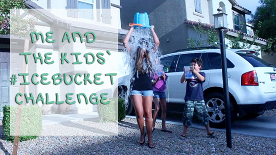 Post image for Me and my minis doing the Ice Bucket Challenge