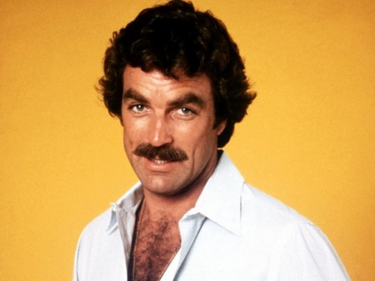 tom selleck pic mustache