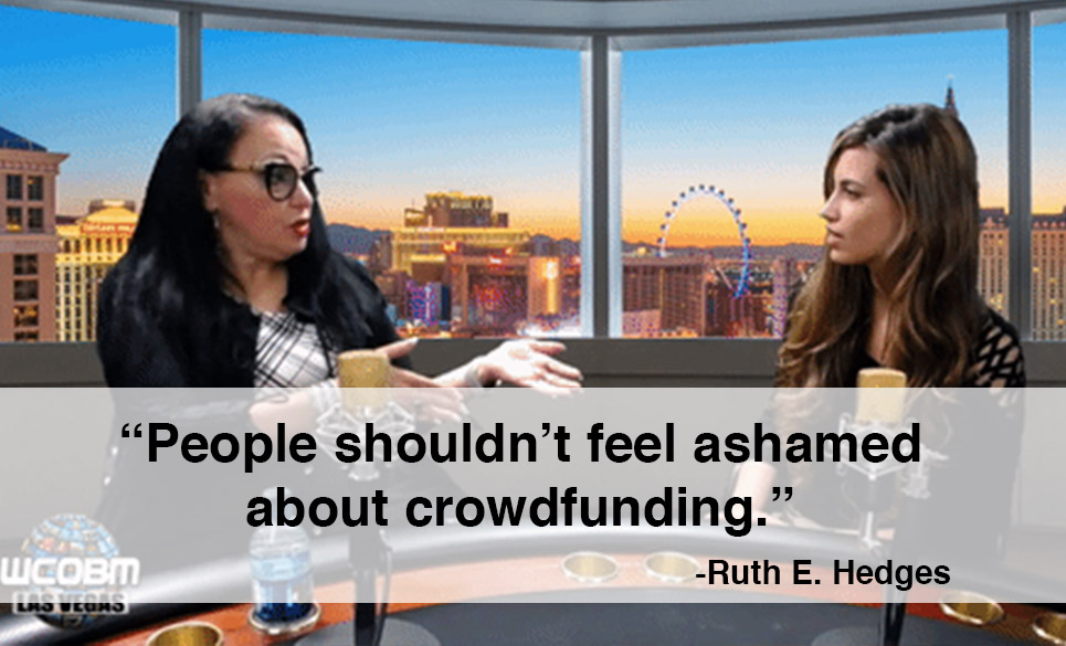 ruth hedges crowdfunding las vegas quote