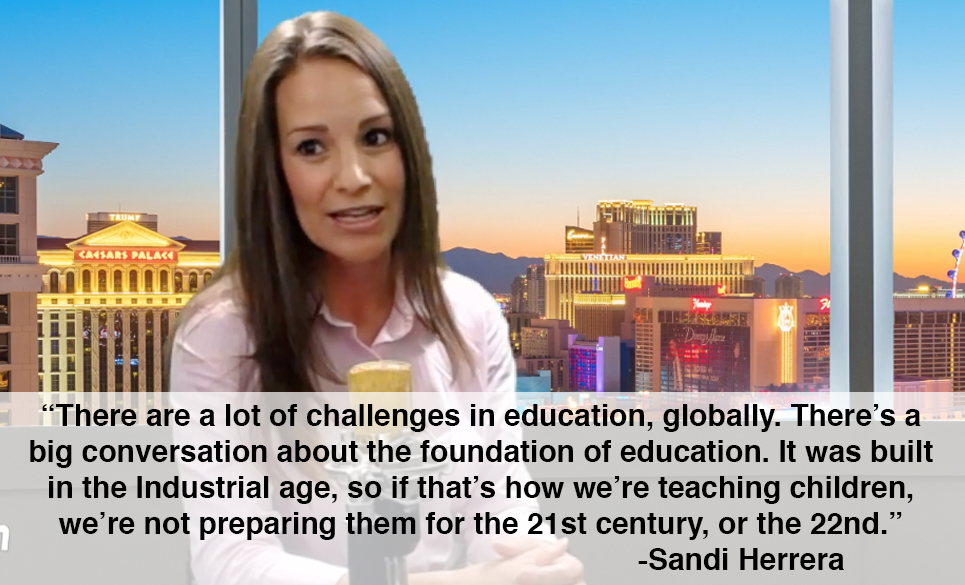 sandi herrera quote about education